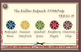 Stampede Color Challenge #19