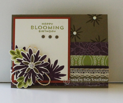 Flower Patch Card 2