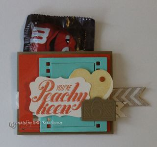 Peachy Keen Mini Treat Pouch