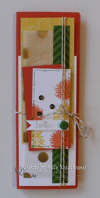 Simple Stems Notepad Front
