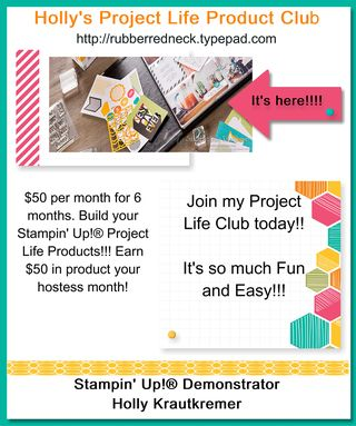 Project Life Club Flyer