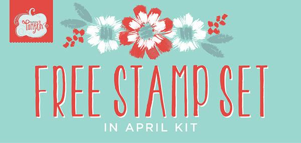 Paper Pumpkin Free Stamp Set