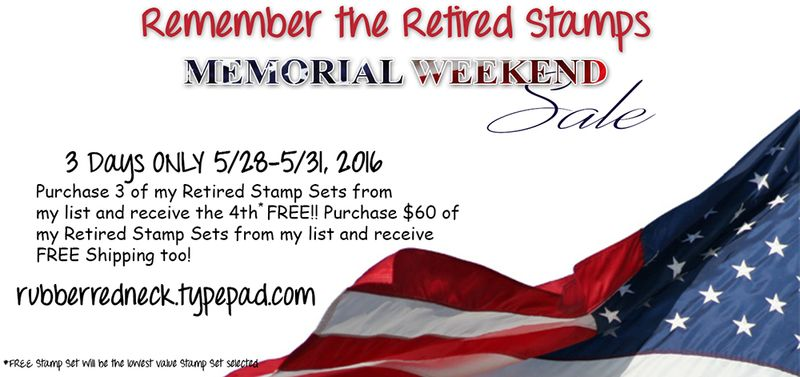 Memorial Day Retired Sale