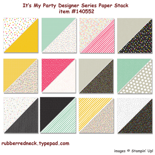It's My Party Paper