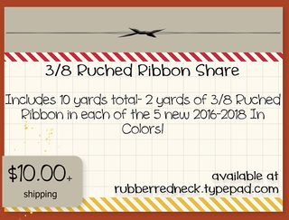 Ruched Ribbon Share