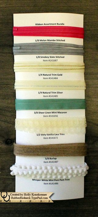 Ribbon Assorment