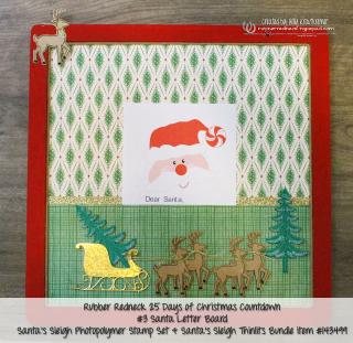 Santa's Letter Board