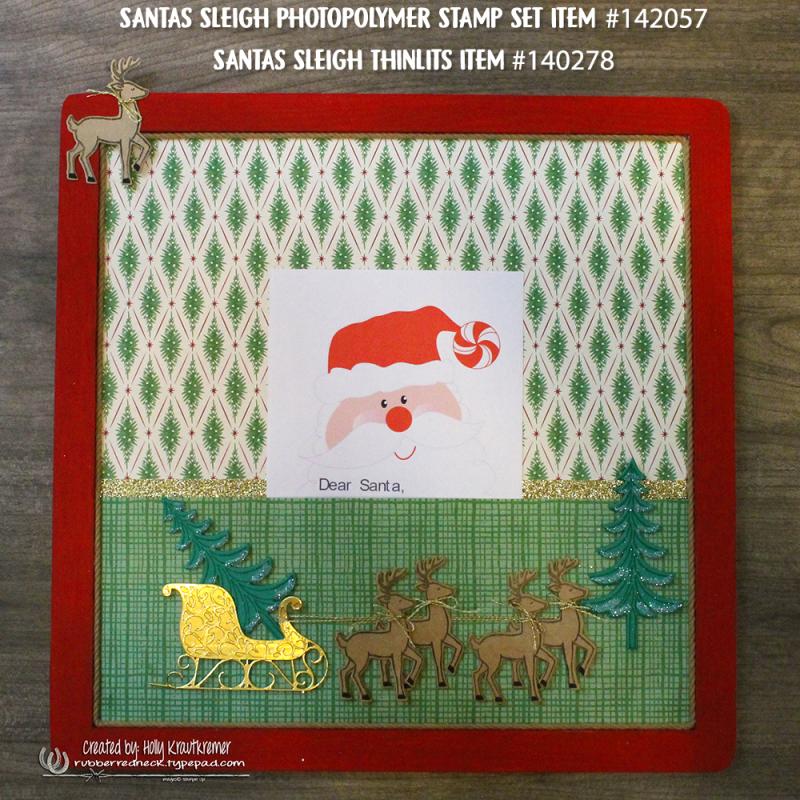 Santa's Letter Board 3