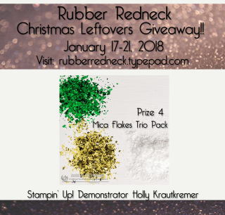 Rubber Redneck Christmas Leftover Giveaway #4