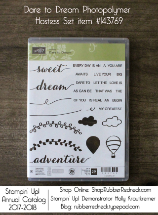 Dare to Dream Hostess Set