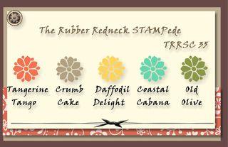 Stampede Color Challenge #35