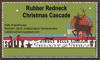 Christmas Cascade Banner
