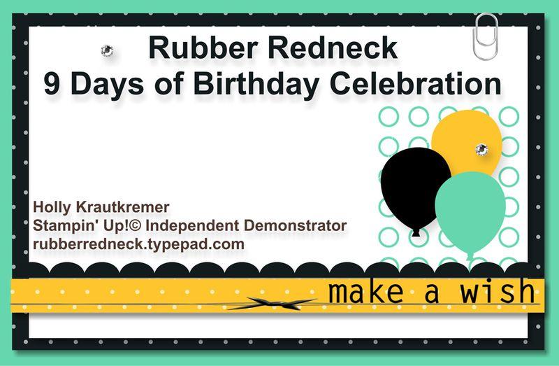 9 Days of Birthday Celebration