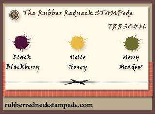 Stampede Color Challenge #46