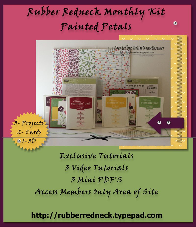 Painted Petals Flyer
