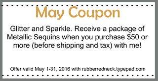 May Coupon