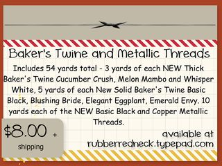 Baker's Twine N Metallic Thread Share