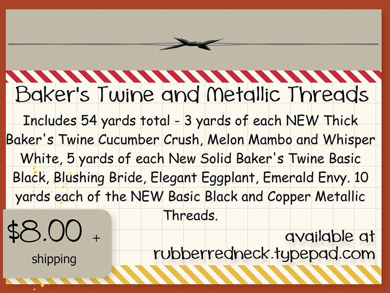 Baker's Twine N Metallic Thread Share