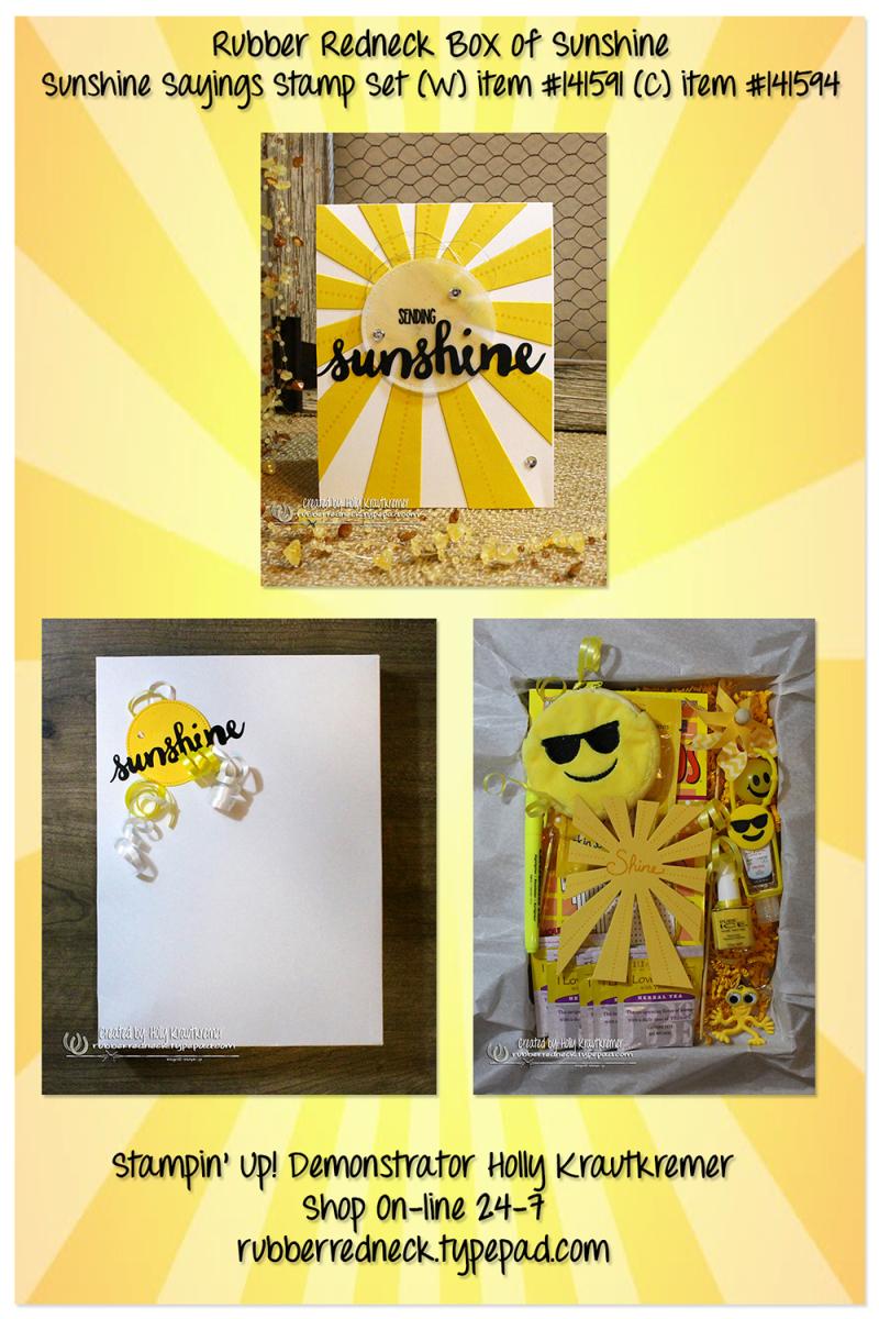 Rubber Redneck Box of Sunshine