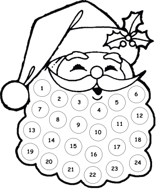 Santa-faceAdventCalendar