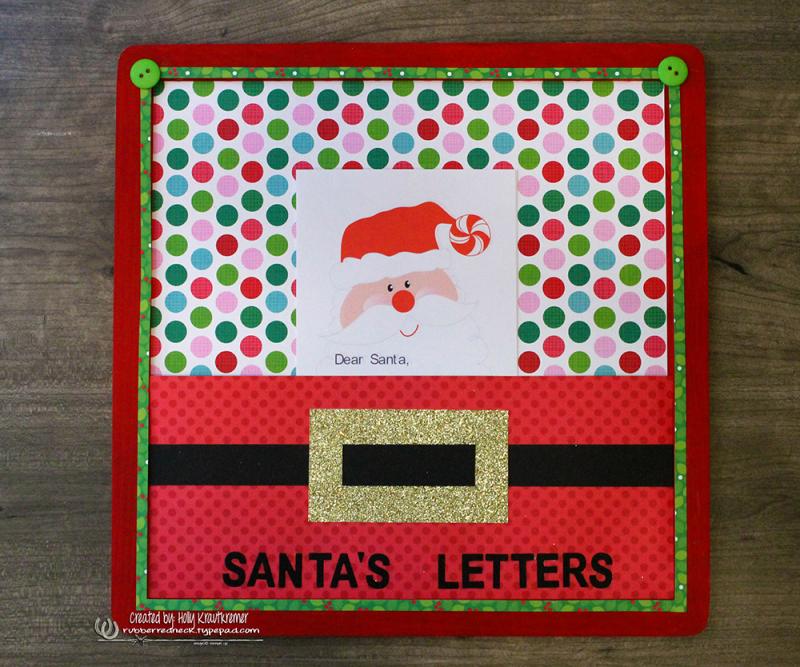 Santa's Letter Board 1