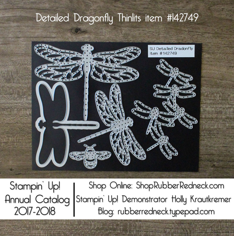 Detailed Dragonfly Thinlits
