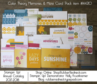 Color Theory Memories & More Card Pack