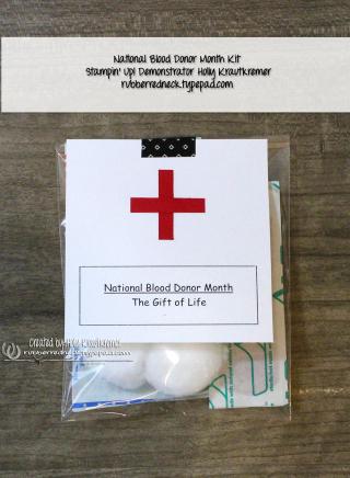 Blood Donor Kit