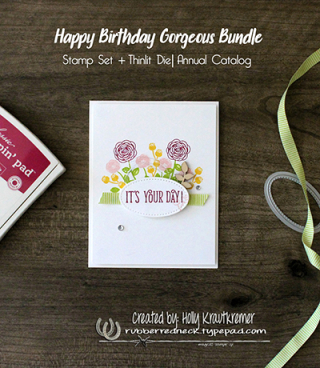 Happy Birthday Gorgeous Card 1
