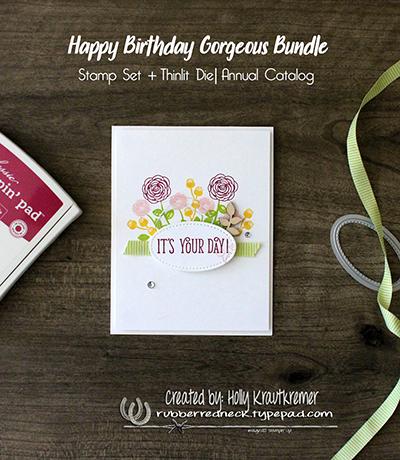 Happy Birthday Gorgeous Card 1