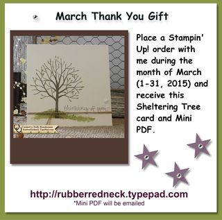 March Thank You