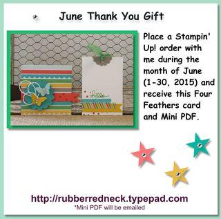 June Customer Thank you