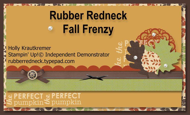 Fall Frenzy Banner