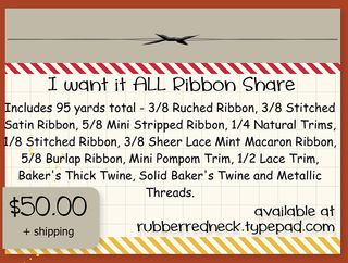 All Ribbon Share