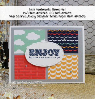 Suite Sentiments Card