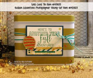 SAB Card Tin