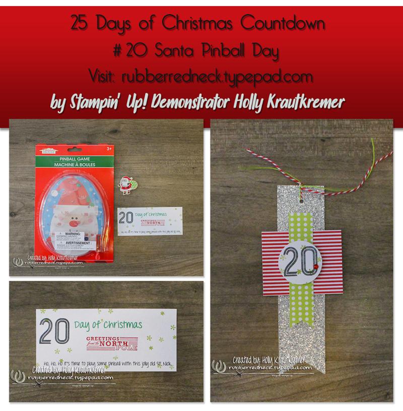 #20 Santa Pinball