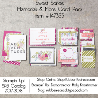 Sweet Soiree Memories & More Card Pack