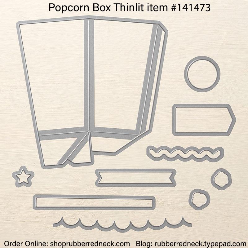 Popcorn Box Thinlit