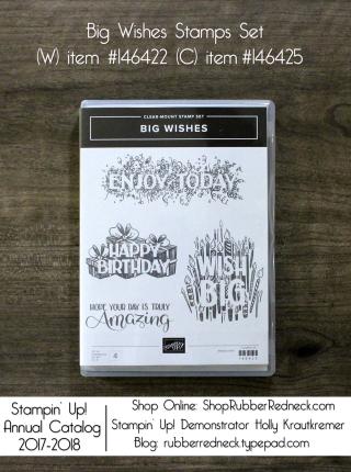 Big Wishes Stamp Set