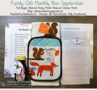 Family Gift Monthly Box Sept