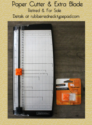 Paper Cutter & Extra Blade