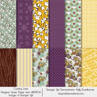 Country Lane Designer Series Paper