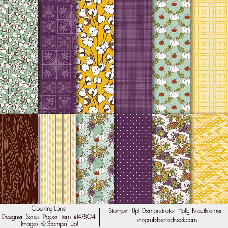 Country Lane Designer Series Paper