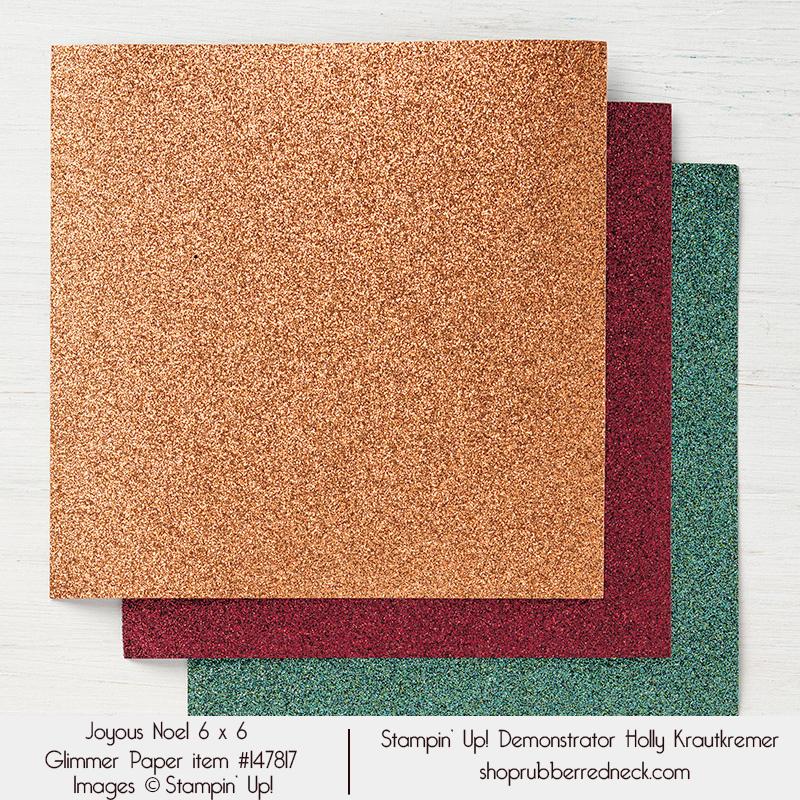 Joyous Noel Glimmer Paper