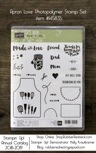 Apron Love Stamp Set