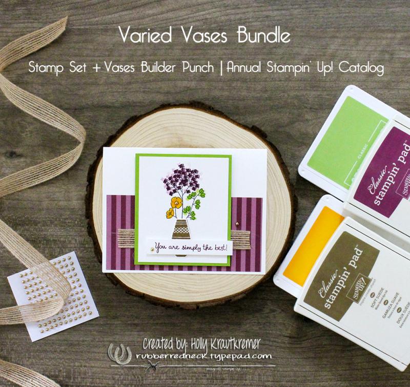 Varied Vases Card