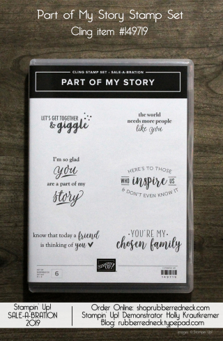 Part of My Story Stamp Set