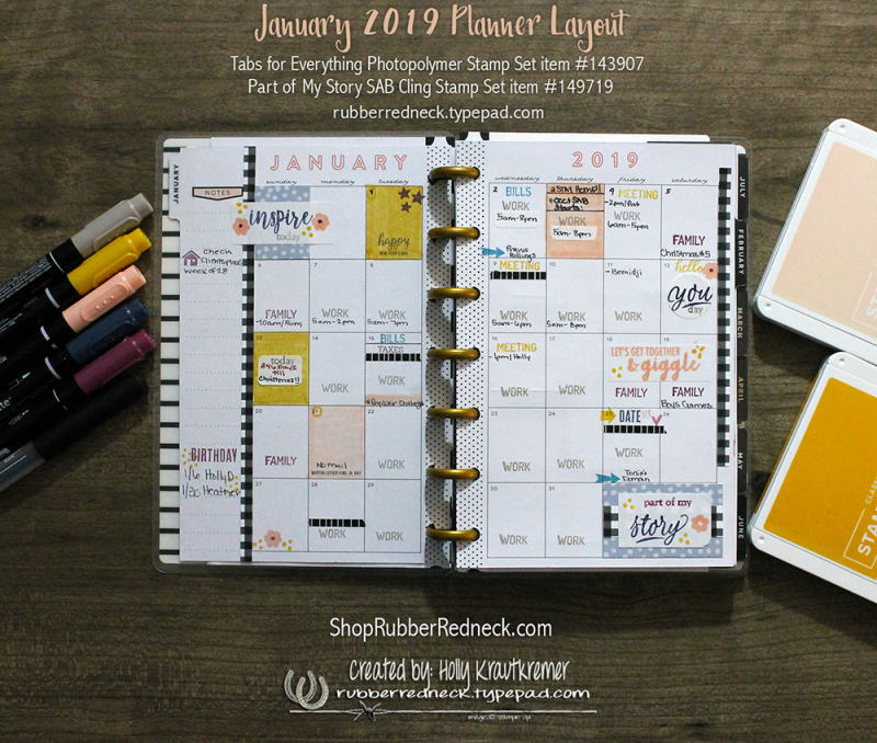 January Planner MIF