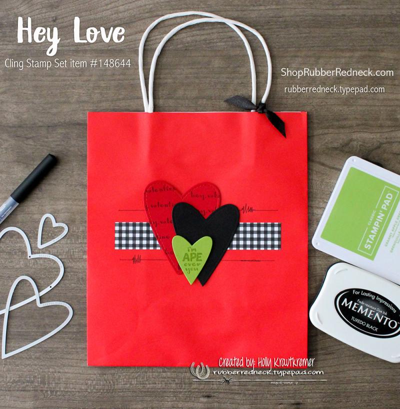 Hey Love Gift Bag
